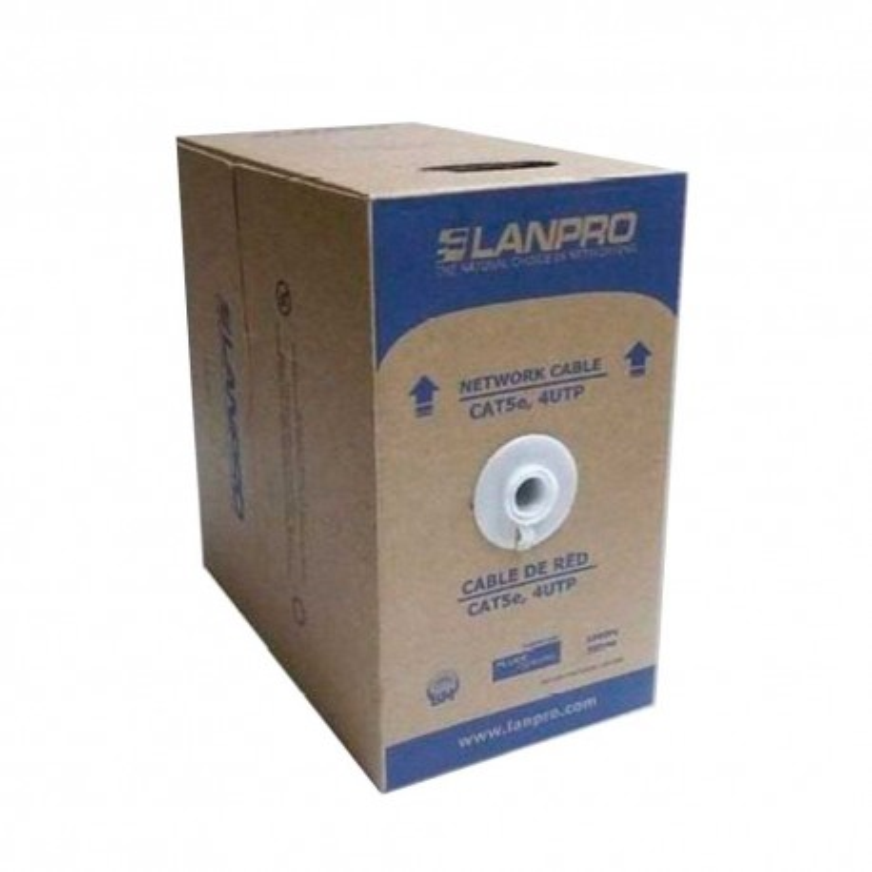 Cable Utp Cat5E 100% Cobre Lanpro