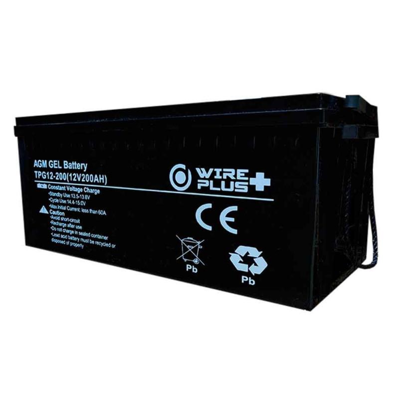 Bateria AGM Gel Ciclo Profundo 12V 200A