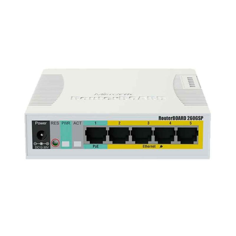 Switch Mikrotik CSS106-1G-4P-1S