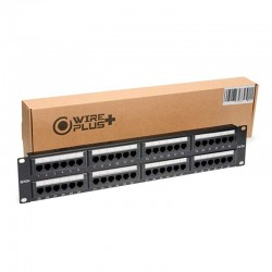 Patch Panel 48 Puertos Cat5E