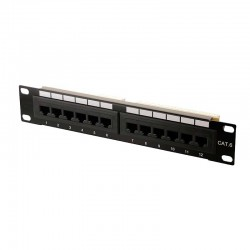 Patch Panel 12 Puertos Cat6