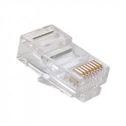 Conector RJ45 Cat6 100 unds