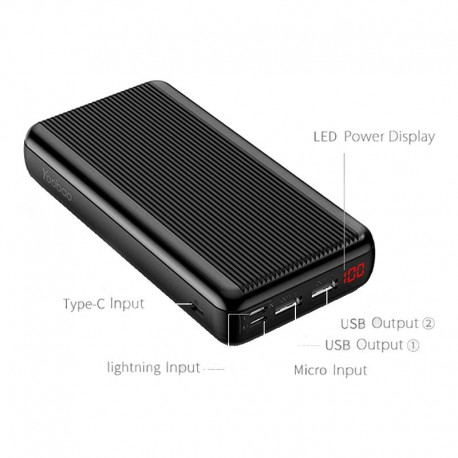 Power Bank Yoobao P20D 20.000 mah