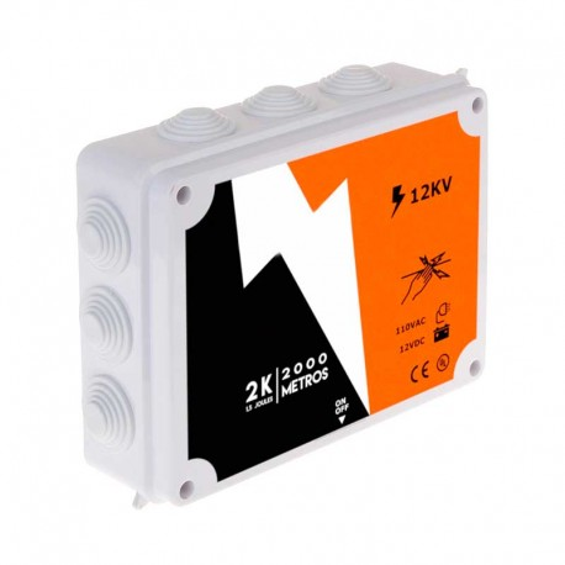 Energizador para Cerco Electrico Wireplus 2000