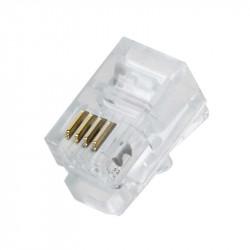 Conector RJ11 100 unds