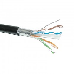 Cable f/utp Intemperie Apantallado Cat6 100% Cobre