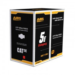 Cable Utp Cat5E AMS 305 mts