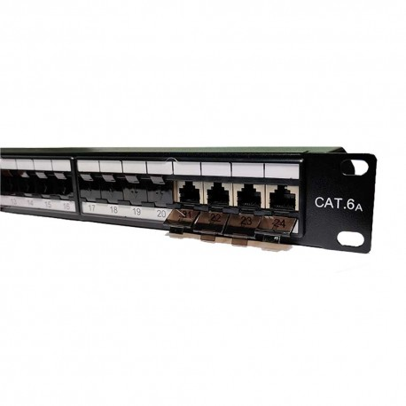 Patch Panel 48 Puertos Cat6a Lanpro
